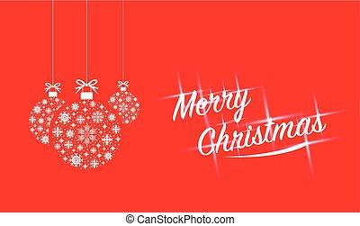 Feliz Navidad texto brillante