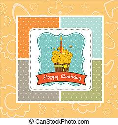 Feliz pastel de cumpleaños