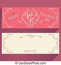 Feliz tarjeta de San Valentín