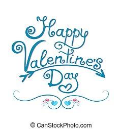 Feliz tarjeta de San Valentín.