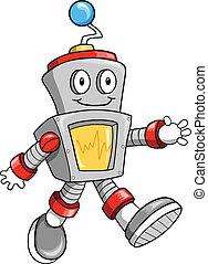 Feliz vector robot