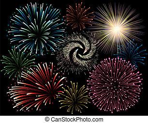 feriado, firework.