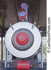 Ferrocarril en el cañón de tenedor español