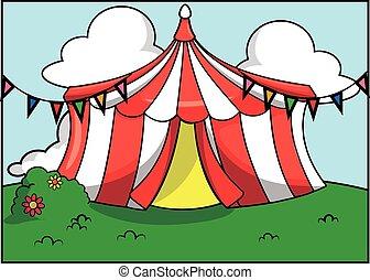 Festival de atracción del circo