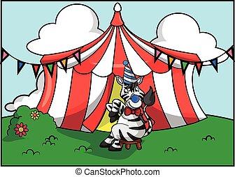 Festival de atracción del circo Tiger