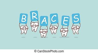 fierros, tenencia, dientes, cartelera