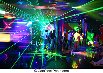 Fiesta de música disco