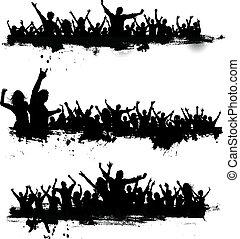 fiesta, grunge, multitudes