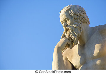 filósofo, griego, socrates