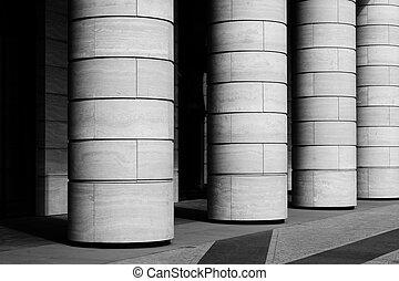 Fila de columnas