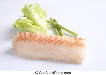 Filete de bacalao a la parrilla