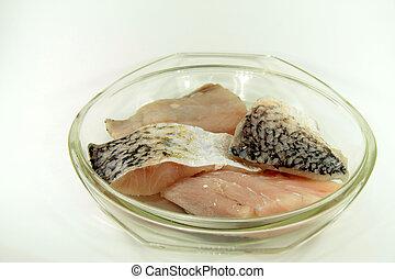 Filete de pescado Baramundi