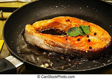 Filete de salmón