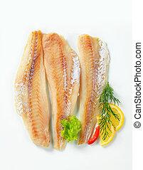 Filetes de pescado blanco