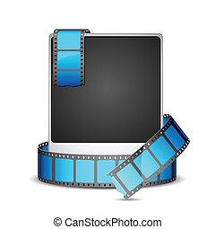Film Stripe alrededor de la foto