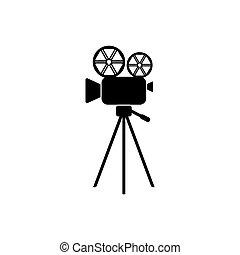 filmadora, icono
