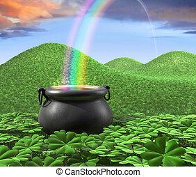 Fin del arco iris