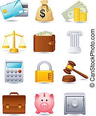 finanzas, icono