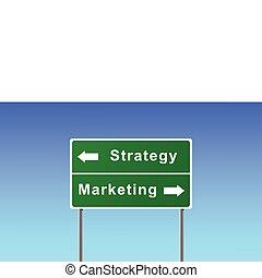 Firmar marketing estratégico.