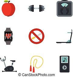 Fitness, dieta y íconos vivos