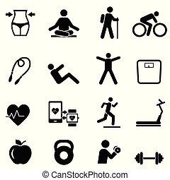 Fitness, dieta y estilo de vida saludable