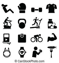 Fitness, dieta y vida sana