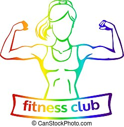 Fitness silueta logo [Convertida]