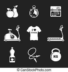 Fitness y icono deportivo