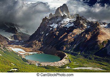fitz, monte, patagonia, argentina, roy