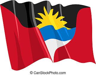 Flag de Antigua y Barbuda