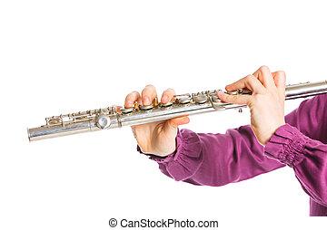 flauta, transversal