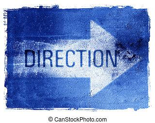 Flecha de dirección