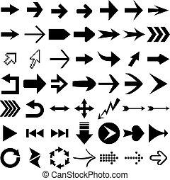flecha, formas