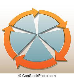Flechas de conexión 5. Procesamiento del sistema
