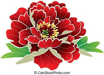 Flor de año chino