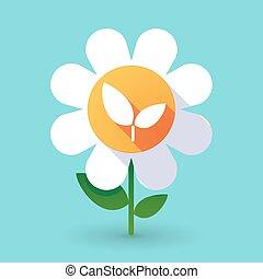 Flor de vector
