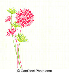 flor, primavera, plano de fondo