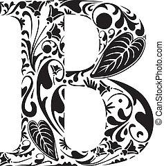 floral, b