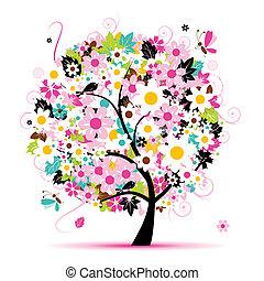 Floral de verano para tu diseño