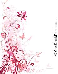 Floral-grunge-pink