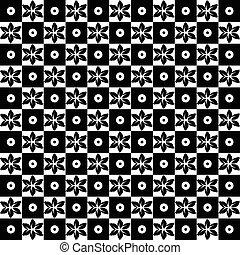 Floral sin semen y patrones de puntos