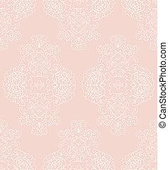 floral, vector, romántico, plano de fondo