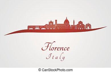 Florence V2 en rojo