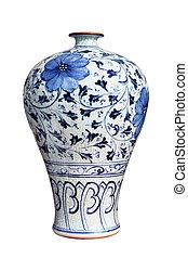florero, porcelana