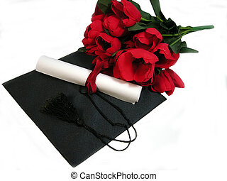 Flores de graduación