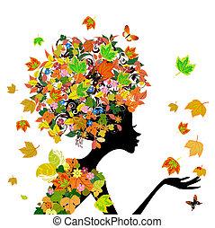 Flores de moda en otoño