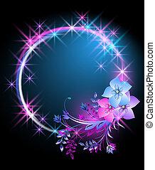Flores y estrellas