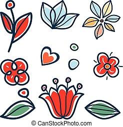 Florets folclórico