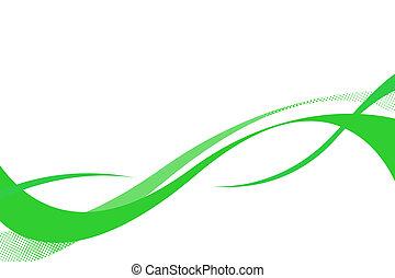 fluir, curvas, swoosh