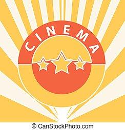 Fondo abstracto del cine